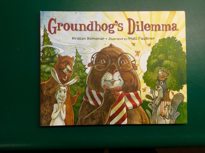 Groundhog's Dilemma Book Sku#1557