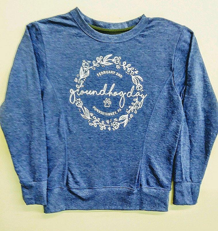 Ladies French Terry Groundhog SweatShirt