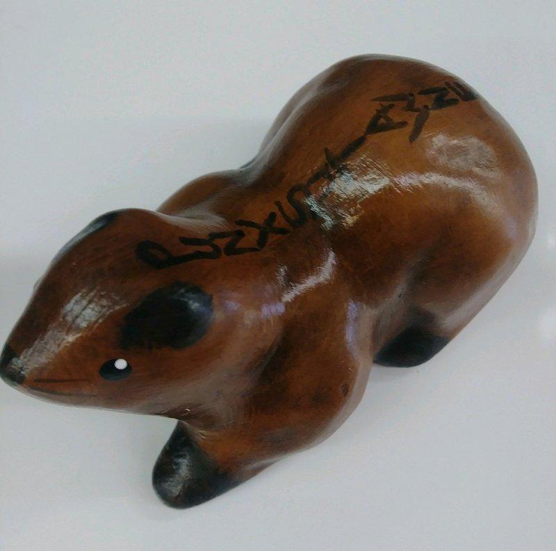 Lying Ceramic Ghog Sku#1889