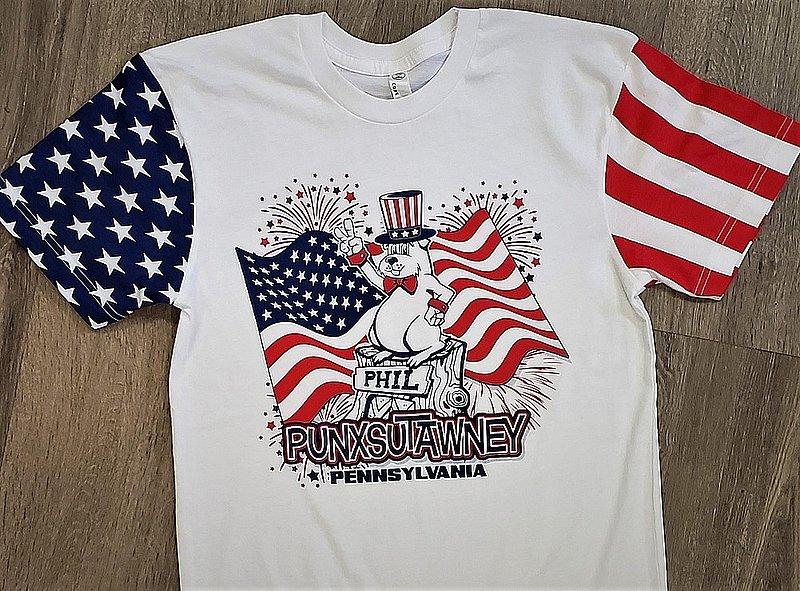 Patriotic Phil Tshirt 2X sku# 2178