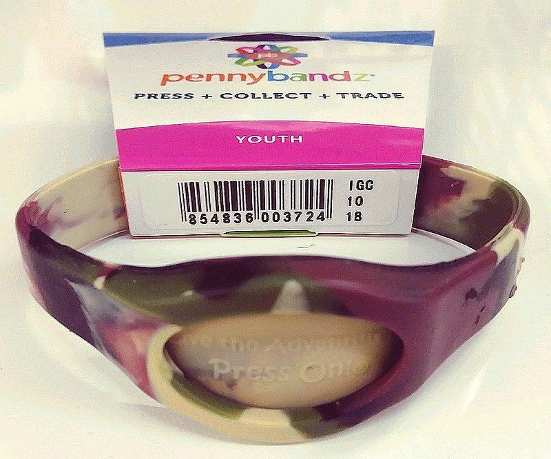 Penny Bandz Bracelet -Camo sku#2031