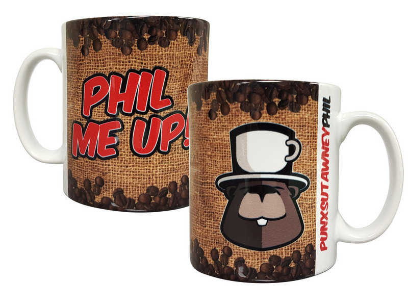Phil Me Up Coffee Mug Sku#1843