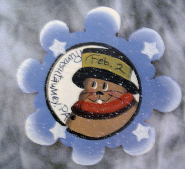 Phil Snowflake Magnet Sku#201