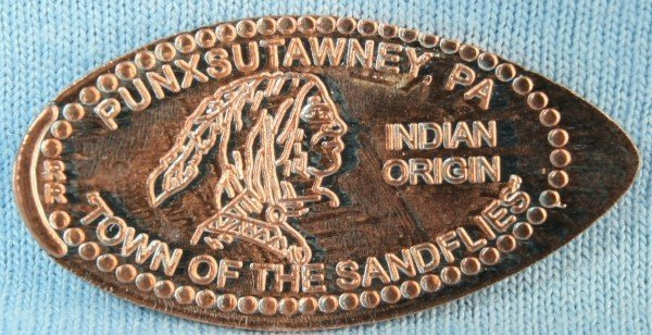 Pressed Penny-Indian Head Sku# 875