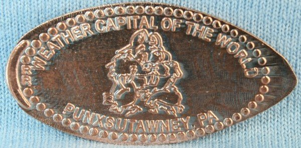 Pressed Penny-Weather Capital of the World Sku# 877