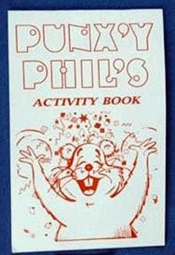 Punxsutawney Phil Activity Book Sku # 354