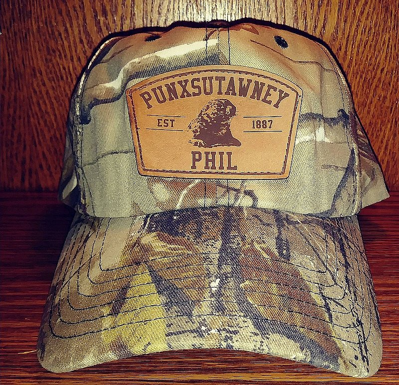 Punxsutawney Phil Camo Hat sku#919