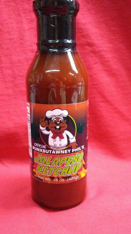 Punxsy Phil's Jalapeno Ketchup Sku# 259