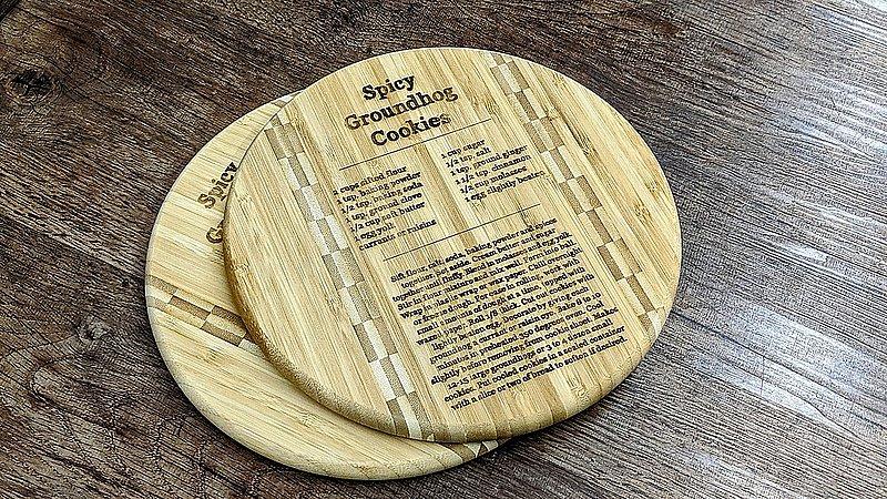 Spicy Ghog Cookie Cutting Board sku#2296