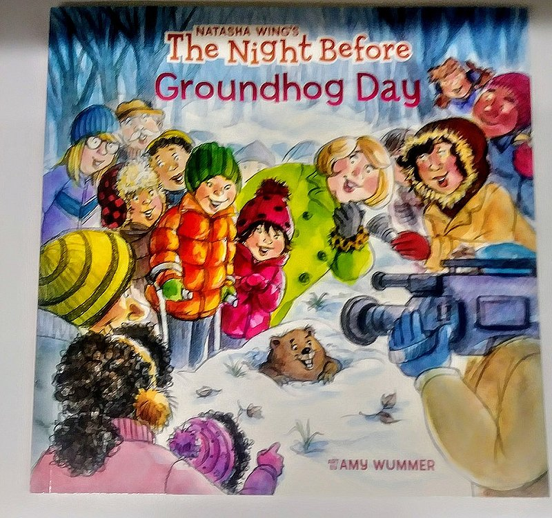 The Night Before Groundhog Day Book Sku#2072
