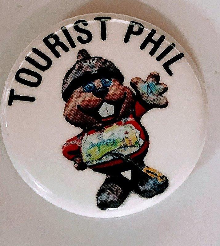 Tourist Phil Pin sku#2238