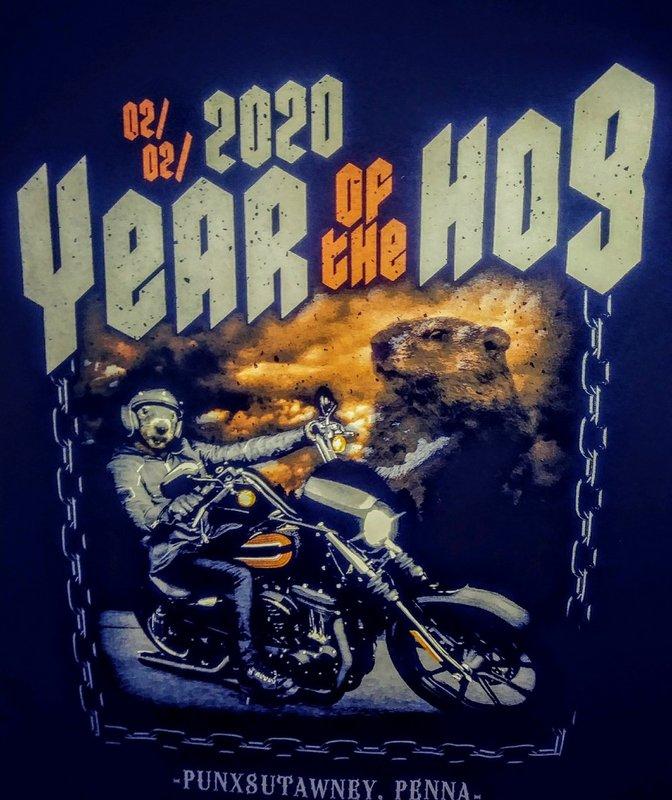 Year of the Hog 2020 Tshirt 2X Sku#2141