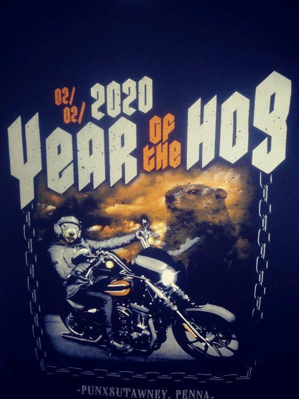 Year of the Hog 2020 Tshirt 3X Sku#2142-3X