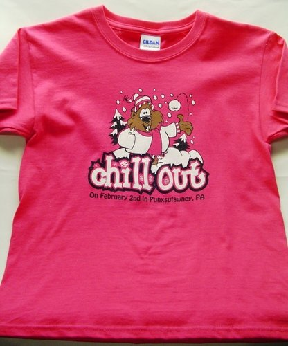 Youth Chill Out Phil T-Shirt Sku#687 xsmall size 4-5 Sku# 688-small size 6-8 Sku#689-medium size 10-12 Sku#690large size 14-16 Sku#691-xlarge size 18-20