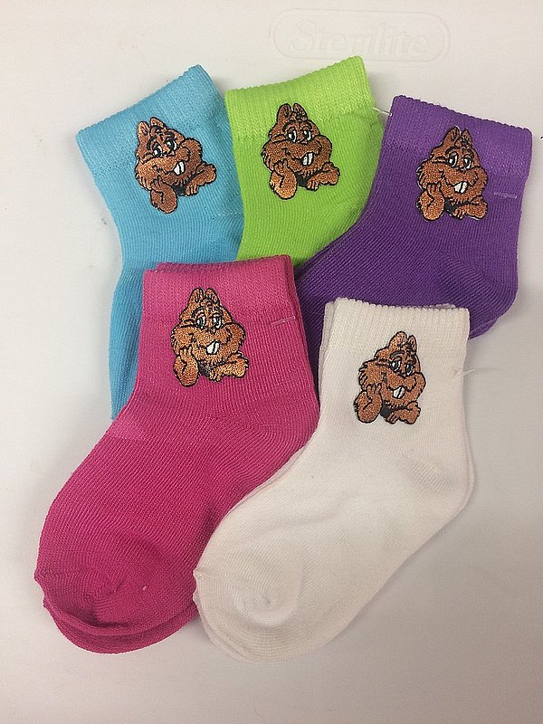Youth Punxsutawney Phil Socks Sku #826-small Sku#826 med.