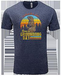 Adult Ghog Birthday Tshirt 2X