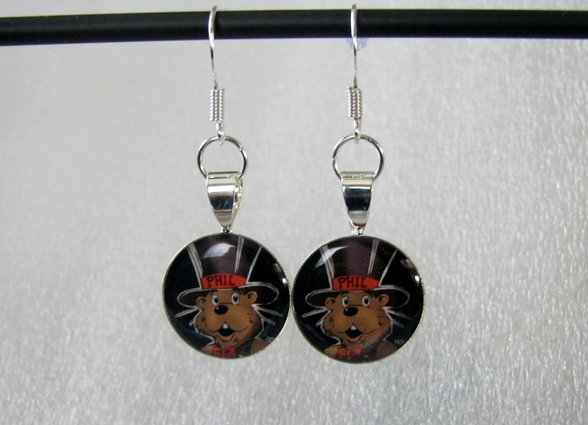*Punxsy Phil Dangle Earrings Sku# 1277
