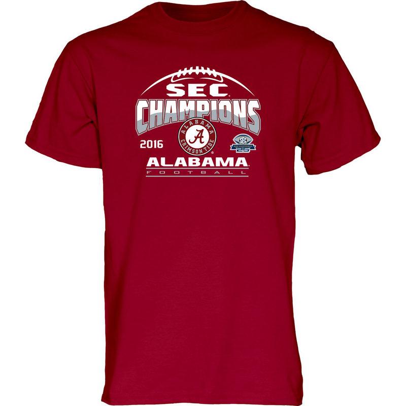 Alabama Crimson Tide SEC Champs TShirt 2016 MEANING-SEC16