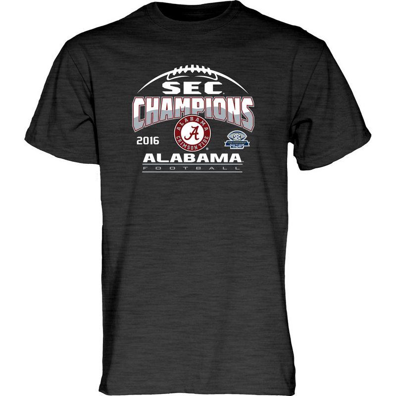 Alabama Crimson Tide SEC Champs TShirt Charcoal 2016 MEANING-SEC16