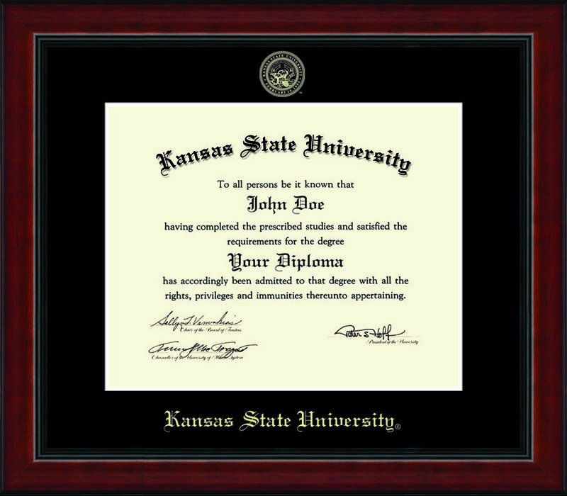 Diploma Frames & Photos - Kansas State Wildcats | College