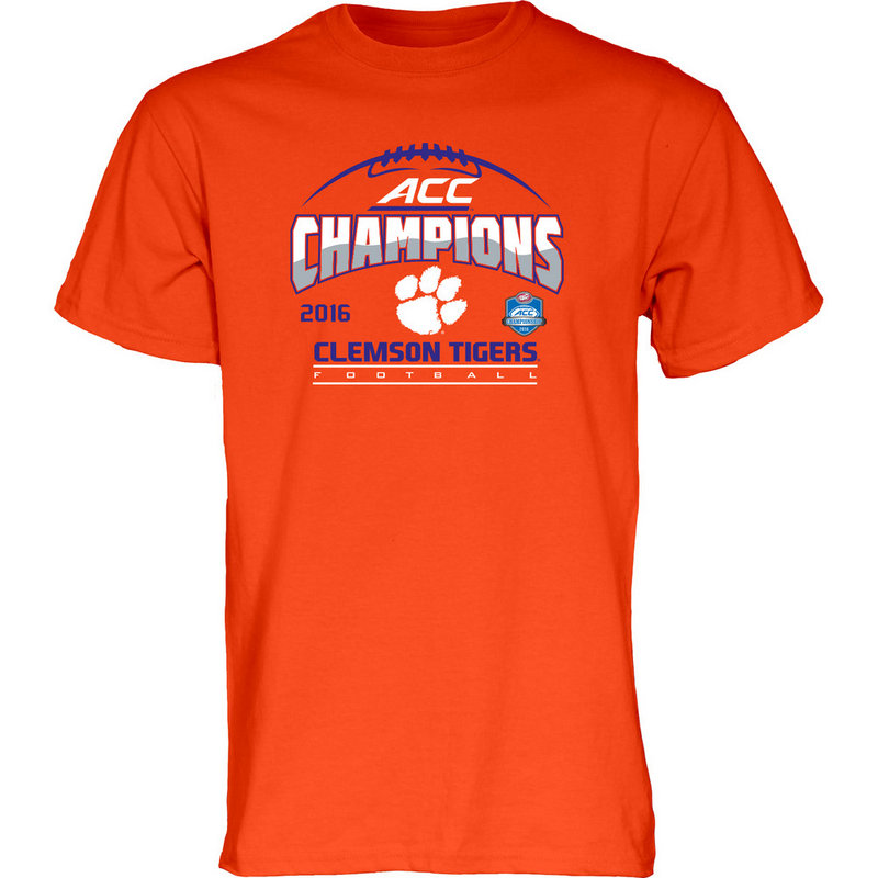 Clemson Tigers ACC Champs TShirt Orange 2016 MEANING ACC16