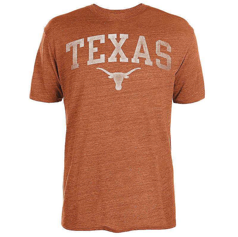 289c Apparel Texas Longhorns Triblend Tshirt Orange Vintage Arch UT200210123 (289c Apparel)