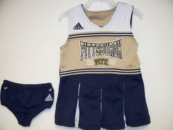 Adidas Pitt Panthers Kids Cheerleader Outfit with Bloomers PITT-062 (Adidas)