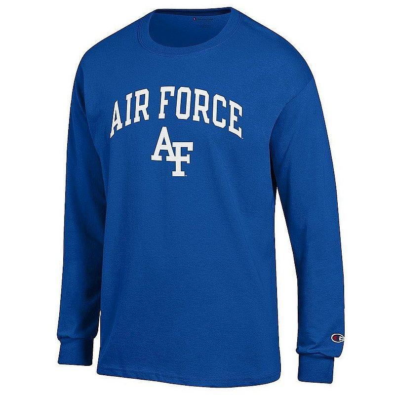 Air Force Falcons Long Sleeve TShirt Blue Arch Over APC03001078*