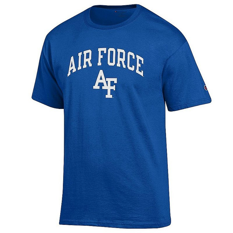 Air Force Falcons TShirt Blue Arch Over APC03001078*