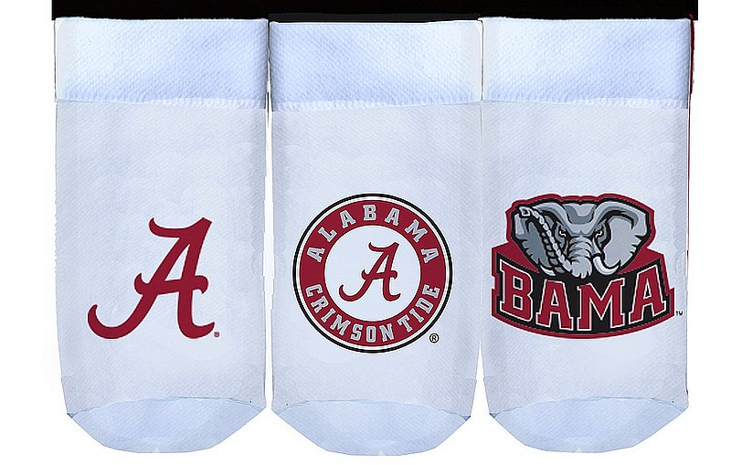 Alabama Crimson Tide Baby Socks 3-Pack