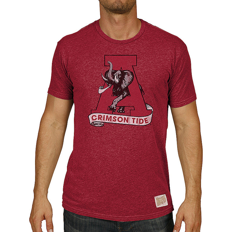 Alabama Crimson Tide Big & Tall Tshirt Vintage CALA911AX_RB130M_HDR