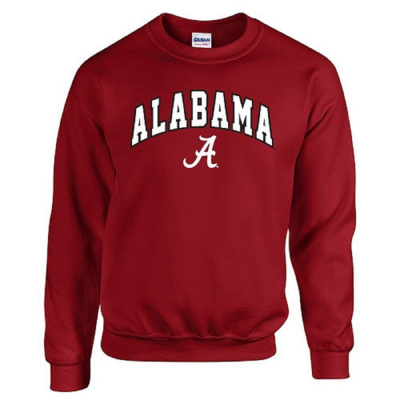 Alabama Crimson Tide Crewneck Sweatshirt Arch UW016