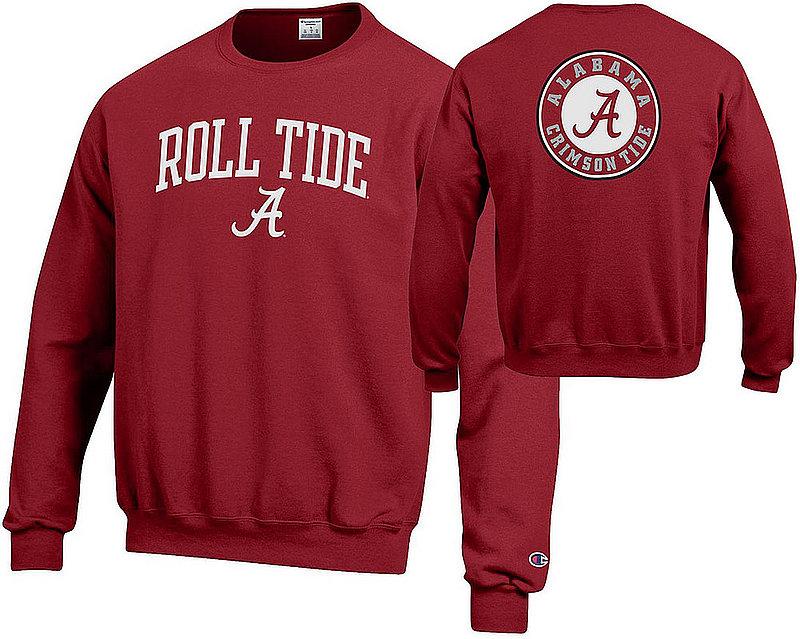 Alabama Crimson Tide Crewneck Sweatshirt Roll Tide APC03010097-APC03010096