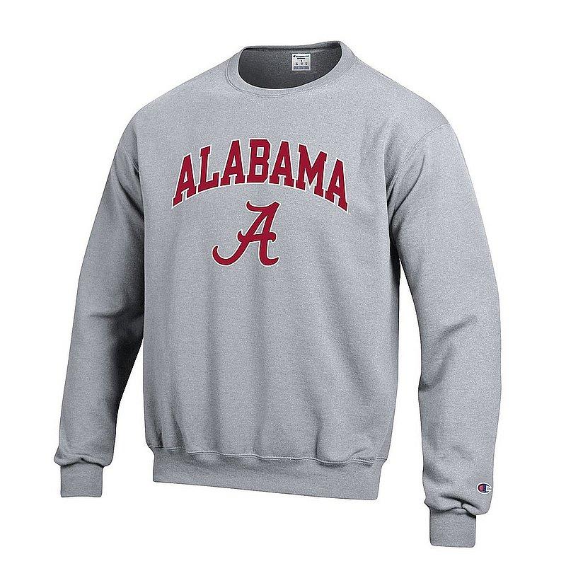 Alabama Crimson Tide Crewneck Sweatshirt Varsity Gray APC02971688