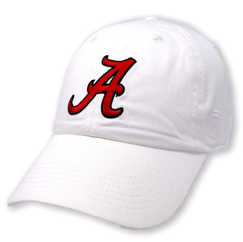 Alabama Crimson Tide Hat Icon White CHAMP-AL-ADJ-WHT