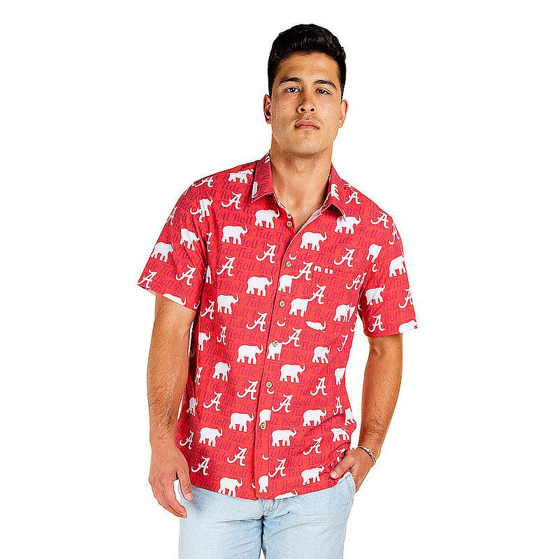 Alabama Crimson Tide Hawaiian Shirt MPL-SRWQ319-LS1712