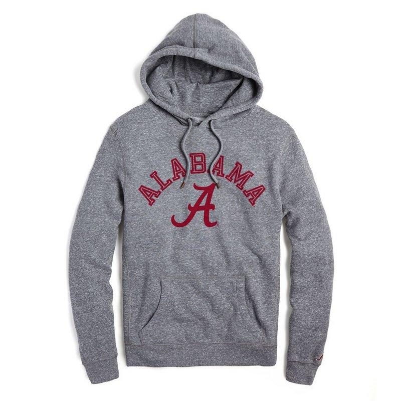 Alabama Crimson Tide Hoodie Sweatshirt Gray