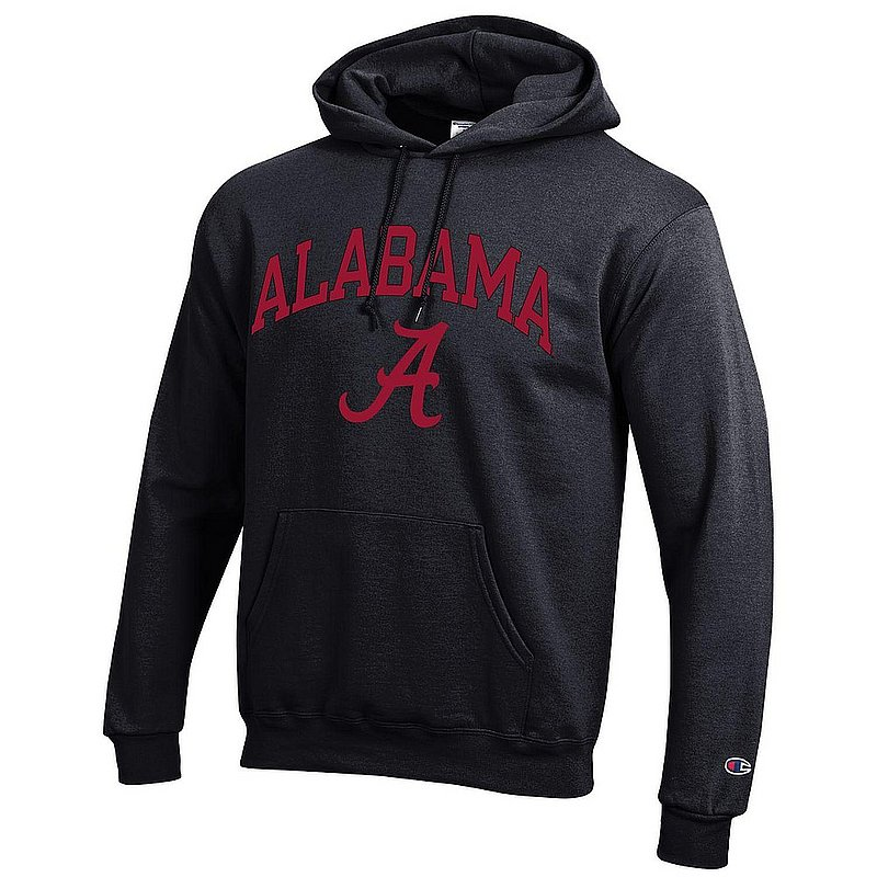 Alabama Crimson Tide Hoodie Sweatshirt Varsity Black APC03006960