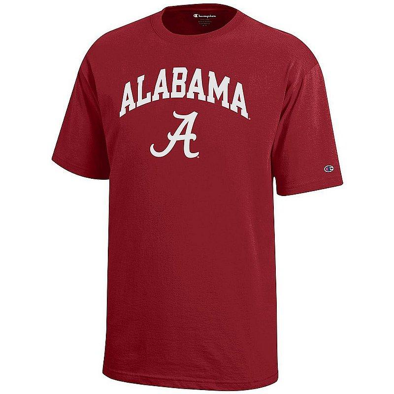 Alabama Crimson Tide Kids TShirt Arch Crimson APC03008172 X