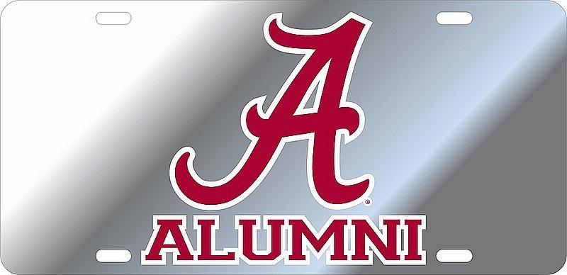 Alabama Crimson Tide License Plate Alumni 10946