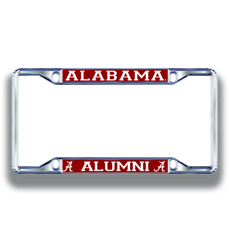 Alabama Crimson Tide License Plate Frame Alumni 10935
