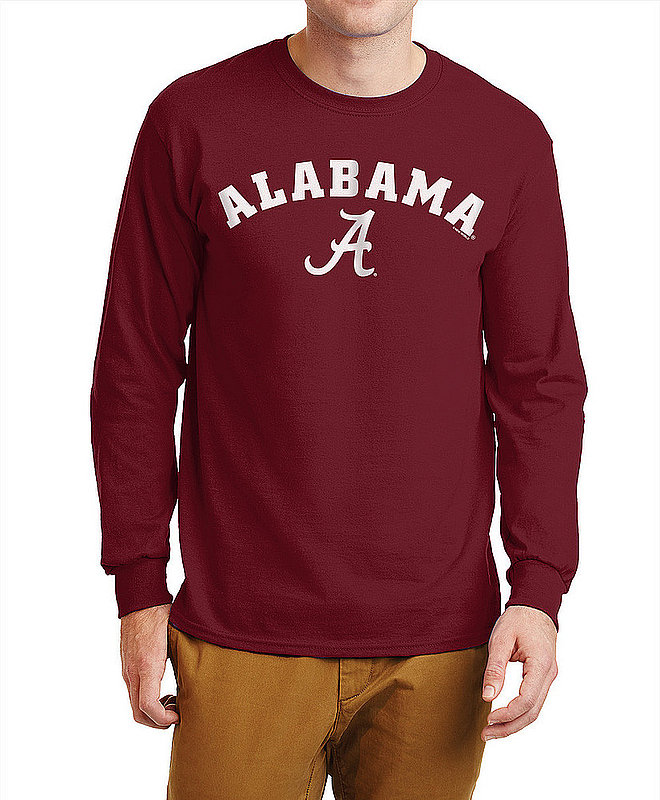 Alabama Crimson Tide Long Sleeve TShirt Varsity APC02960895