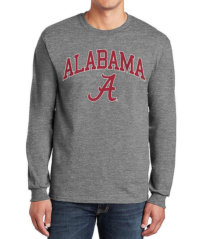 Alabama Crimson Tide Long Sleeve TShirt Varsity Gray APC02971688