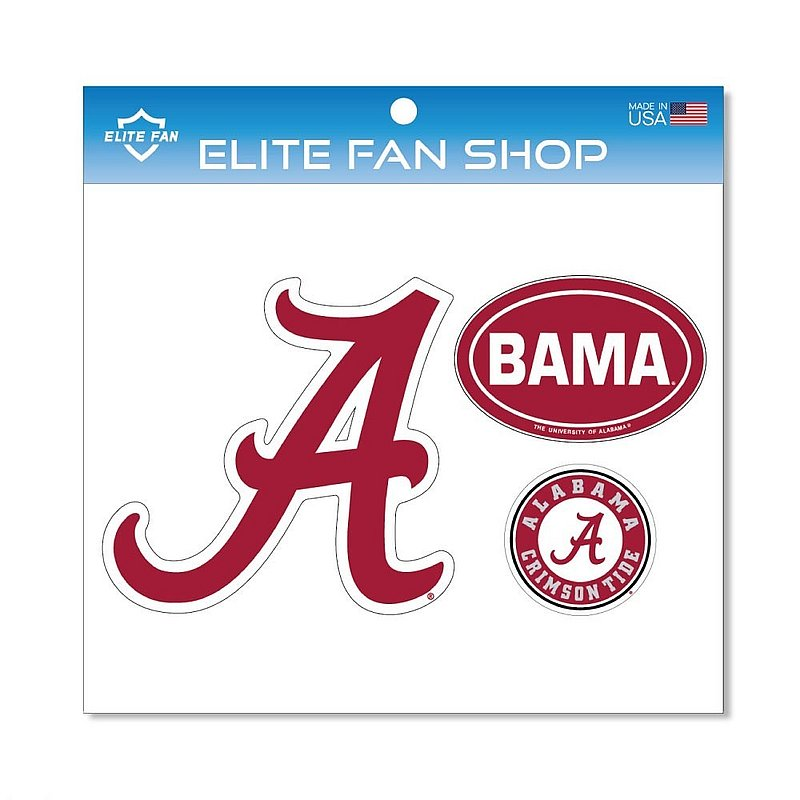 Alabama Crimson Tide Magnet 3-Pack
