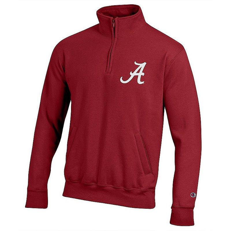 Alabama Crimson Tide Quarter Zip Sweatshirt Captain Team APC03419966
