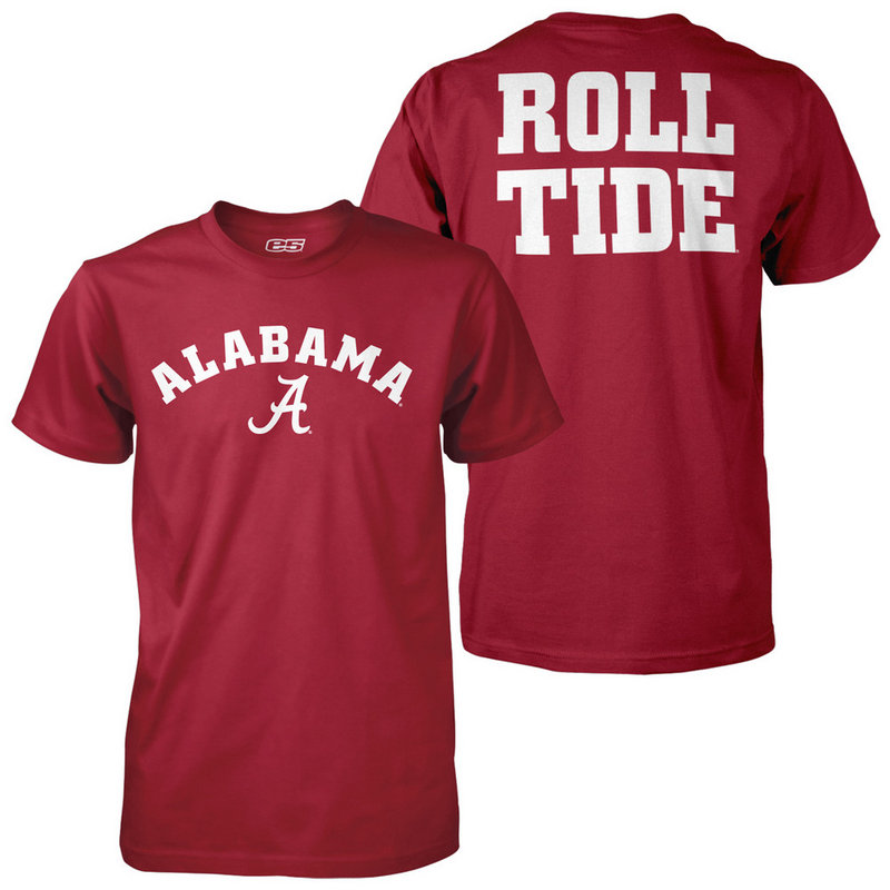 Alabama Crimson Tide Roll Tide Tshirt ALA1H668