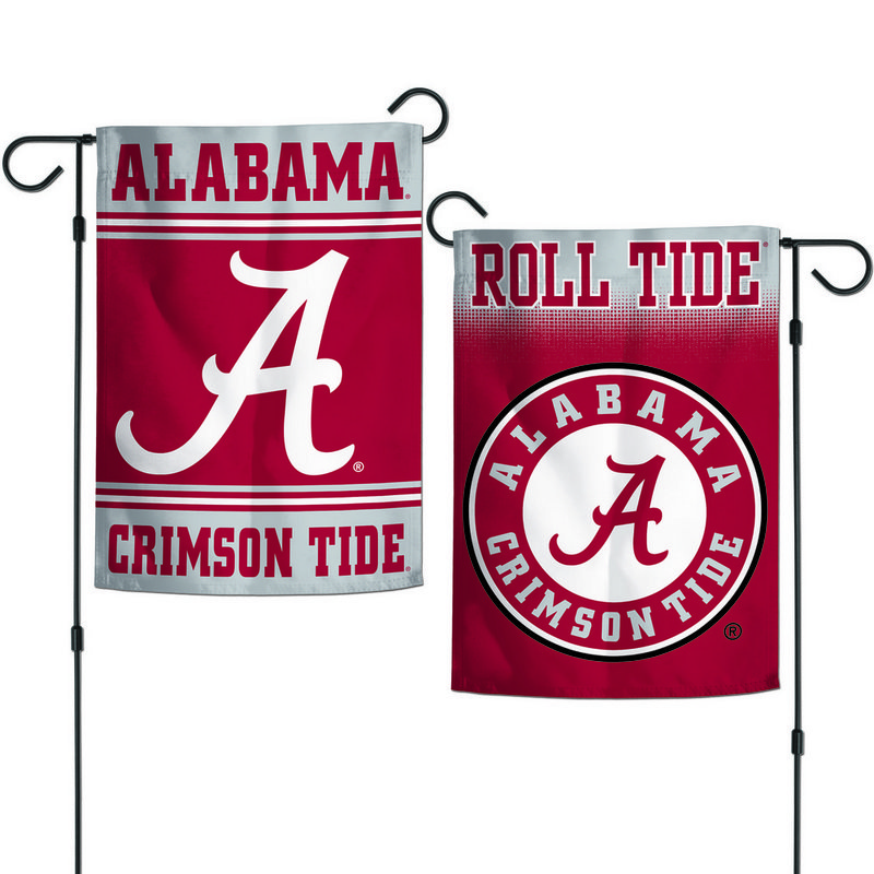 "Alabama Crimson Tide Team Garden Flag 12.5""x18"""