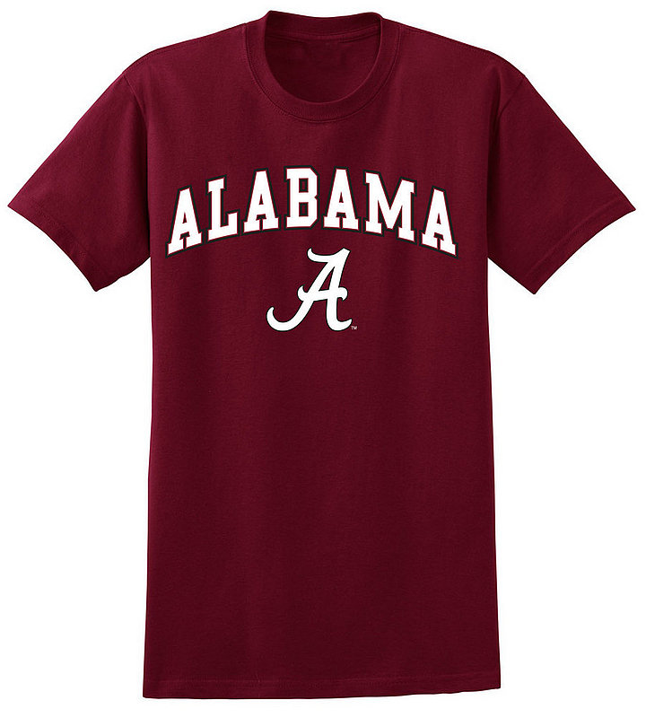 Alabama Crimson Tide Tshirt Arch Over Plus Size