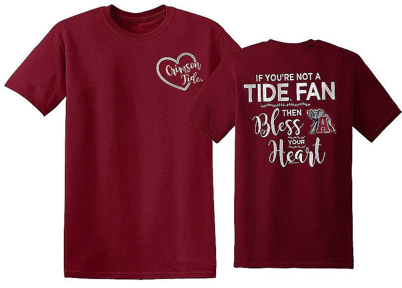Alabama Crimson Tide Tshirt Bless Your Heart ALABlessYourHeartOL