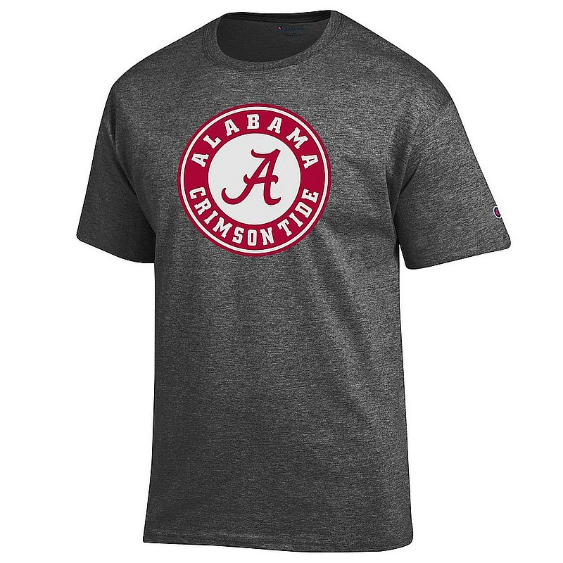 Alabama Crimson Tide TShirt Icon Charcoal APC03004900